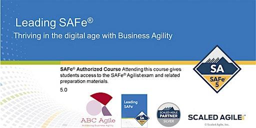 """Curso """"Leading SAFe"""" con certificación como SAFe Agilist (SA) - en Bogotá por Estratecno - Juan Gilberto García López"""
