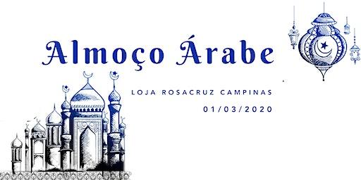 Almoço Árabe - Loja Rosacruz Campinas