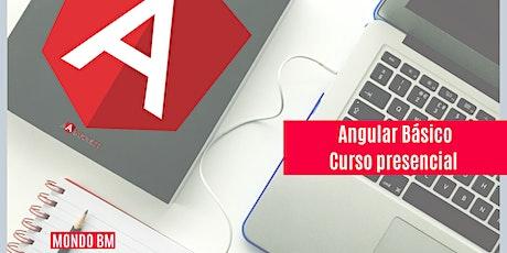 Angular Básico Curso Presencial y En línea en VIVO entradas