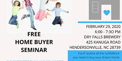 LEAP Into Your Dream Home - First Time Home Buyer Seminar