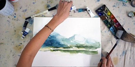 Create Your Own Expressive Watercolour Landscape Workshop tickets