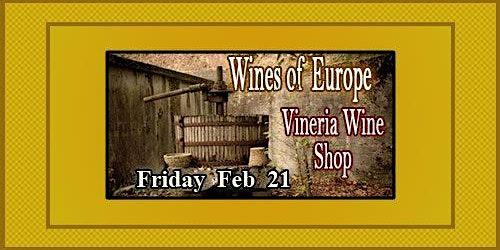 Wines of Europe Tasting