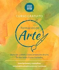 Curso de Arte Colaborativo: Fundación Donde Quiero Estar entradas