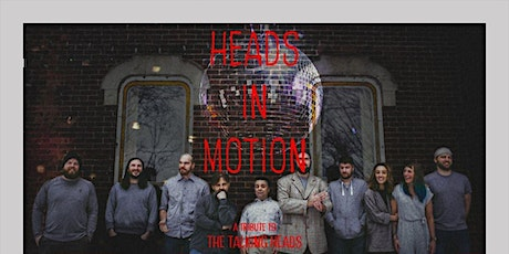 Heads in Motion - A Talking Heads Tribute with The Textures | Redstone Room tickets