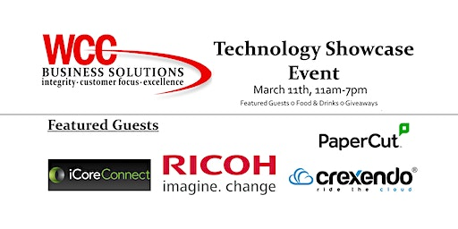 WCC Business Solutions Technology Showcase
