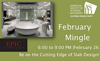 ASID OC February Mingle at Epic Stone