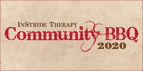 InStride Therapy Community BBQ 2020 tickets