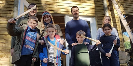Family Woodcraft Session - Hand Carve a Sword from a log tickets