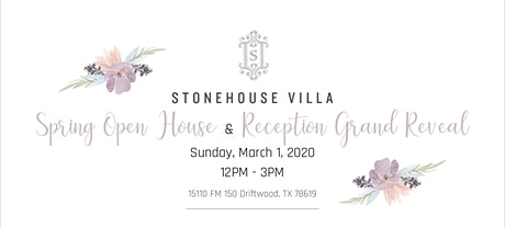 Stonehouse Villa Grand Reveal & Open House tickets