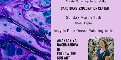 Create Workshop Series - Acrylic pour painting with Anastasiya Bachmanova tickets