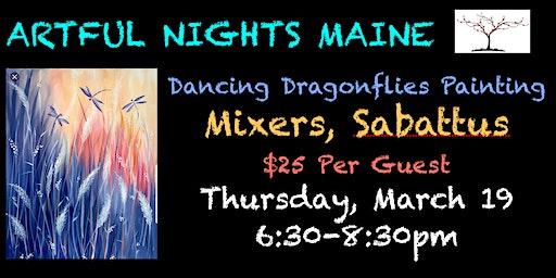 Dancing Dragonflies at Mixers