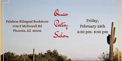 Queer Poetry Salon