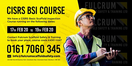 CISRS BSI Course tickets