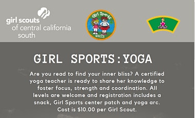 Girl Sports: Yoga - Bakersfield  tickets