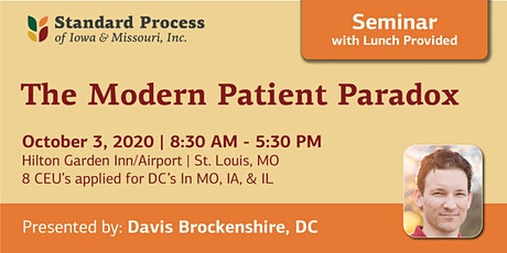 The Modern Patient Paradox tickets