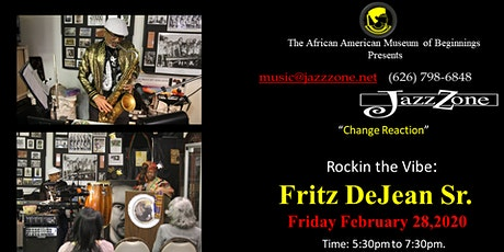 """Change ReAction"" ................. in theJazzZone w/ Rosco Lee Owens tickets"