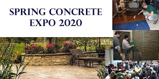 Spring Concrete Expo 2020