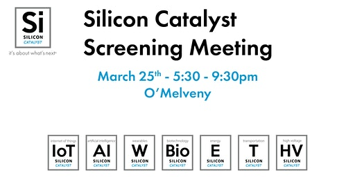 Silicon Catalyst's Q1 2020 Screening Meeting