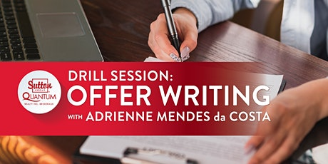 Drill Session: Offer Writing with Adrienne tickets