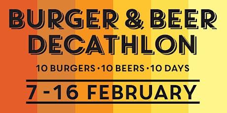 Little Creatures Presents The Burger & Beer Decathlon tickets