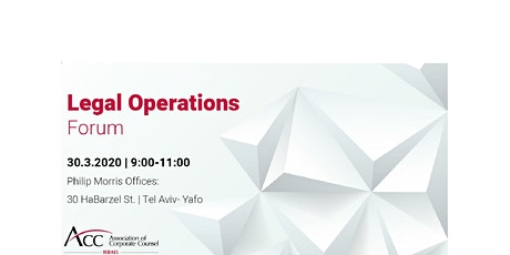 Legal Ops forum tickets
