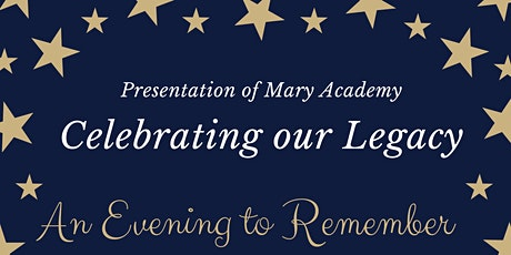 PMA Celebrating our Legacy: an evening to remember tickets