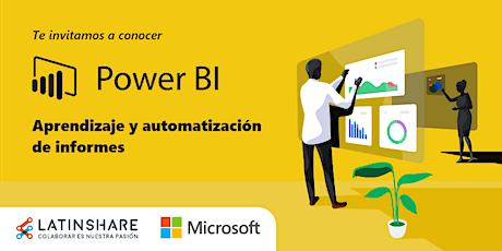 Power BI: Aprendizaje y automatización de informes. entradas