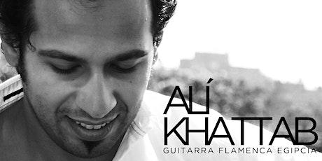 ALÍ KHATTAB - Recital Guitarra Flamenca Egipcia (B entradas