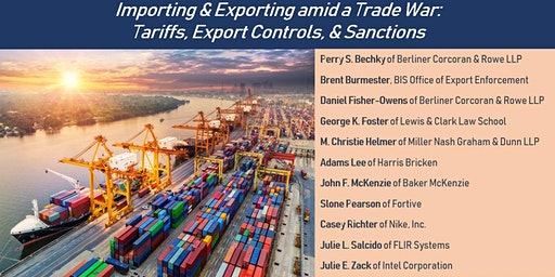 Importing & Exporting Amid a Trade War (Non CLE Attendees)