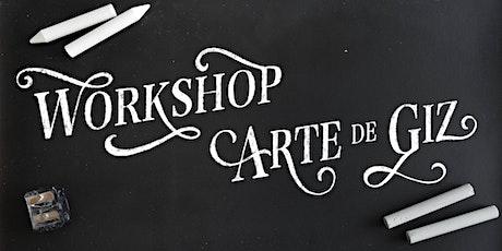 Workshop Arte de Giz em São Paulo ingressos