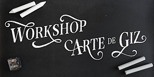 Workshop Arte de Giz em São Paulo
