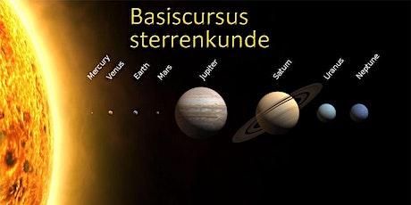 Basiscursus Sterrenkunde (start 4 maart) tickets