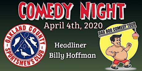 Comedy Night @ Oakland County Sportsman's Club tickets