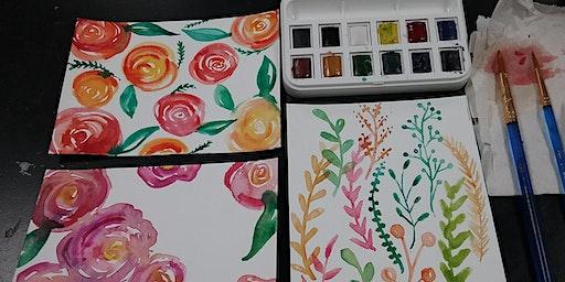 Beginning Watercolor Art Class- March 7th