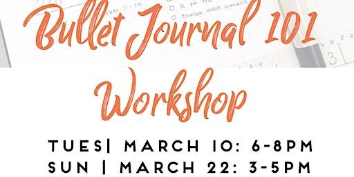 Bullet Journal 101 Workshop Downtown Colorado Springs
