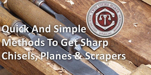 Just Sharp - Simple Methods to get Sharp Chisels, Plane Irons & Scrappers
