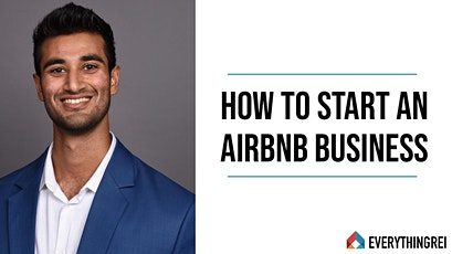 How To Start An Airbnb Business with Shiv Gettu tickets