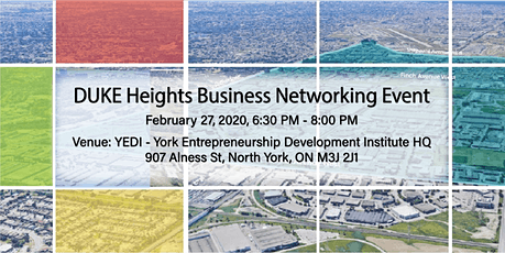 DUKE Heights Business Networking Event - February 27, 2020 tickets