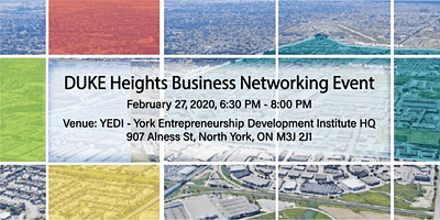 DUKE Heights Business Networking Event - February 27, 2020