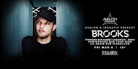 Avalon Fridays & Inovativ Present: BROOKS tickets