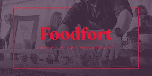 FOODFORT - Collaboration Dinner: Sarah Kelly + Hugh Acheson