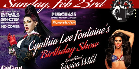 Cynthia Lee Fontaine Birthday Party at Super Sunday Diva Show with Special Guest Jessica Wild tickets