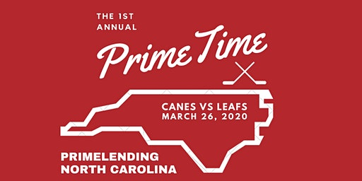 PrimeTime with the Canes *CLICK TO REGISTER*