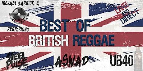 Best of British Reggae Live & Direct tickets
