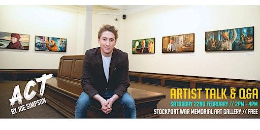 ACT - Joe Simpson Artist Talk and Q&A