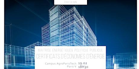 Conférence CEE - EDDEE Alumnis billets