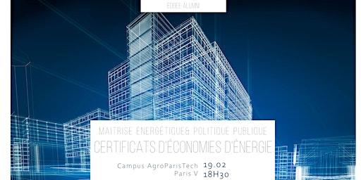 Conférence CEE - EDDEE Alumnis