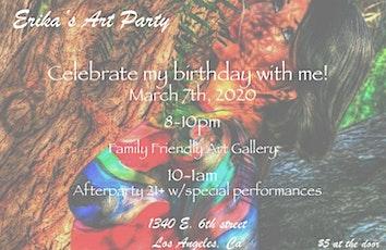 Erika's Art Party  tickets