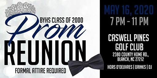 BYHS Class of 2000 Prom Reunion