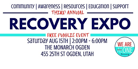 Third Annual Recovery Expo tickets